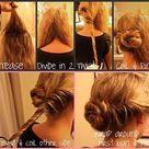 Easy Hair Buns
