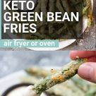 Keto Green Bean Fries (air fryer and oven!)