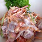 Salade de thon cru à la tahitienne   La cocinera loca