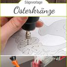 Osterkränze – DIY-Projekt aus Holz