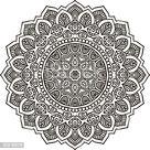 Mandala. Round Ornament Pattern. Vintage decorative elements. Hand...