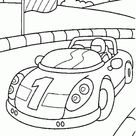 Race Car Coloring Pages Of Free Car Coloring Pages