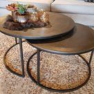 Salontafels | Ronde salontafels online kopen | Pure Wood