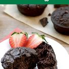 Double Chocolate Blender Muffins
