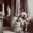 "Grand Duchesses of Russia on Instagram ""Rare photo of Anastasia, Maria, Olga, and Tatiana, c. 1907. Photo source vk.com/naaotma russian grandduchesses anastasia maria olga…"""