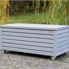 Truhenbank / Sitztruhe aus heimischem Holz - Made in Germany