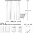 Die Ärzte Duschvorhang Wasserabweisend Badezimmer Dekoration Geschenk Für Fans