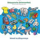 BABADADA, Wikang Tagalog - Babysprache (Scherzartikel), biswal na diksyunaryo - baba: Tagalog - German baby language (joke), visual dictionary (Tagalo