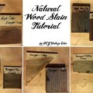 Natural Wood Stains