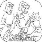 Ausmalbilder Bibi und Tina Kostenlose - Ausmalbilder Für Kinder Lernen