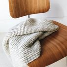 CROCHET PATTERN ⨯ Blanket, Afghan ⨯ Chunky Texture  ⨯ The Kenscoff Throw