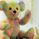 Instant PDF Download Teddy bear memory Bear Toy Sewing Pattern   Etsy