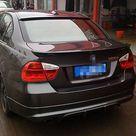 73.46US $ 24 OFF For BMW E90 Rear Roof Spoiler Wing lip for BMW 3 Series Sedan Carbon Fiber AC Style 2005 2008 lip bmw carbon fiber lipbmw wing   AliExpress
