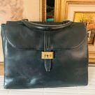 Vintage Spritzer & Fuhrmann Black Leather Doctors Bag