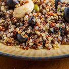 YEW British Columbian Blueberry Quinoa Salad