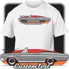 Custom Art T-Shirt  64 1964 65 1965 Buick Skylark 340 GS Convertible