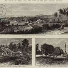 Large Framed Photo. The Straits of Sunda, Java, the Scene of the
