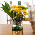 How to Spray Paint Vases and Jars