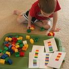 Two Preschool Math Activities with Duplo Legos - Frugal Fun For Boys and Girls