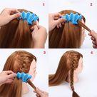 1pcs Fashion Women DIY Sponge Hair Braider Plait Twist Clip Hair Styling Tools Hair Accessories (Color: Randomly Send) | Wish
