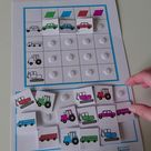 Sorting Grids Autism Speech and Language Therapy