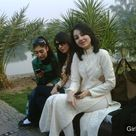 Cute Local College Girls in Salwar Kameez