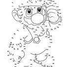 Super Mario dot to dot   Free Printable Coloring Pages