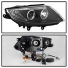 Spyder BMW Z4 03 08 Projector Headlights Xenon/HID Model Only   LED Halo Black PRO YD BMWZ403 HID BK