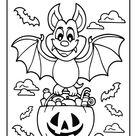 Printable Halloween Coloring Book for Kids - 50 Halloween Coloring Pages for Kids