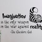 Alice In Wonderland Wall Decal Quote Every Adventure Requires   Etsy