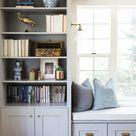 Alpine Modern Remodel - Entry, Living & Den   House of Jade Interiors