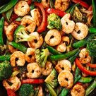 Shrimp Stir Fry Is PACKED With Flavor
