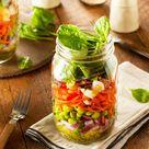 Salat im Glas   so schichtest du richtig   LECKER