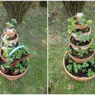 Von Kräuter- und Erdbeertürmen - eine Anleitung! - Topfgartenwelt