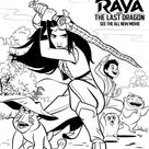 Raya and the Last Dragon coloring pages - 70 Free coloring pages