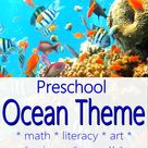 Awesome Preschool Ocean Theme with Science Experiments, Art Projects, and More