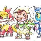 starters pokemon by @itsbirdy | Pokémon Amino