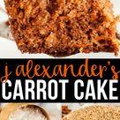 J Alexanders Carrot Cake Recipe (Full Copycat Version)