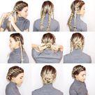 Schnelle Frisuren für die Arbeit - 10 einfache und schöne Inspirationen!