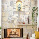 Steinwände im Innenraum: Moderne Einrichtungssstrategien - Fresh Ideen für das Interieur, Dekoration und Landschaft
