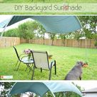 Moveable Backyard Sun Shade Hoops