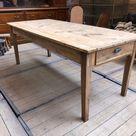 Table De Ferme Etroite