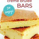 Keto Crème Brûlée Bars - Easy!!