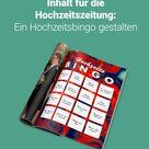 Bingo! | Spielidee für die Hochzeitszeitung