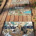 Easy DIY Garden Decor: Make a Mosaic