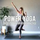 Power yoga poses to fire up your practice
