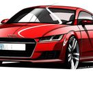 New Audi TT coupe sketches revealed
