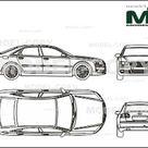 Audi A8 6.0 Quattro 2004   Disegno 2D   25510   Model COPY   Italiano