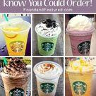 Secret Starbucks Drinks