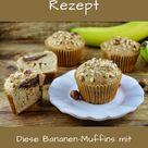 Bananen-Muffins mit Nutella-Füllung Rezept -Video